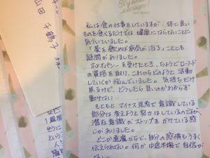 F.S様の手紙